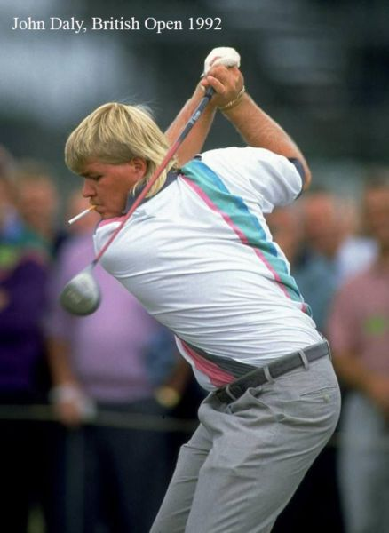 John Daly back when golf was cool.