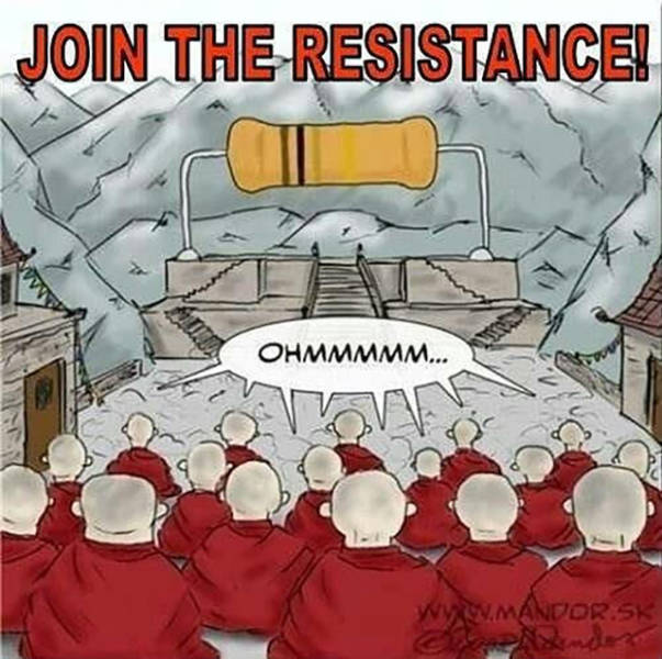 Join the resistance.