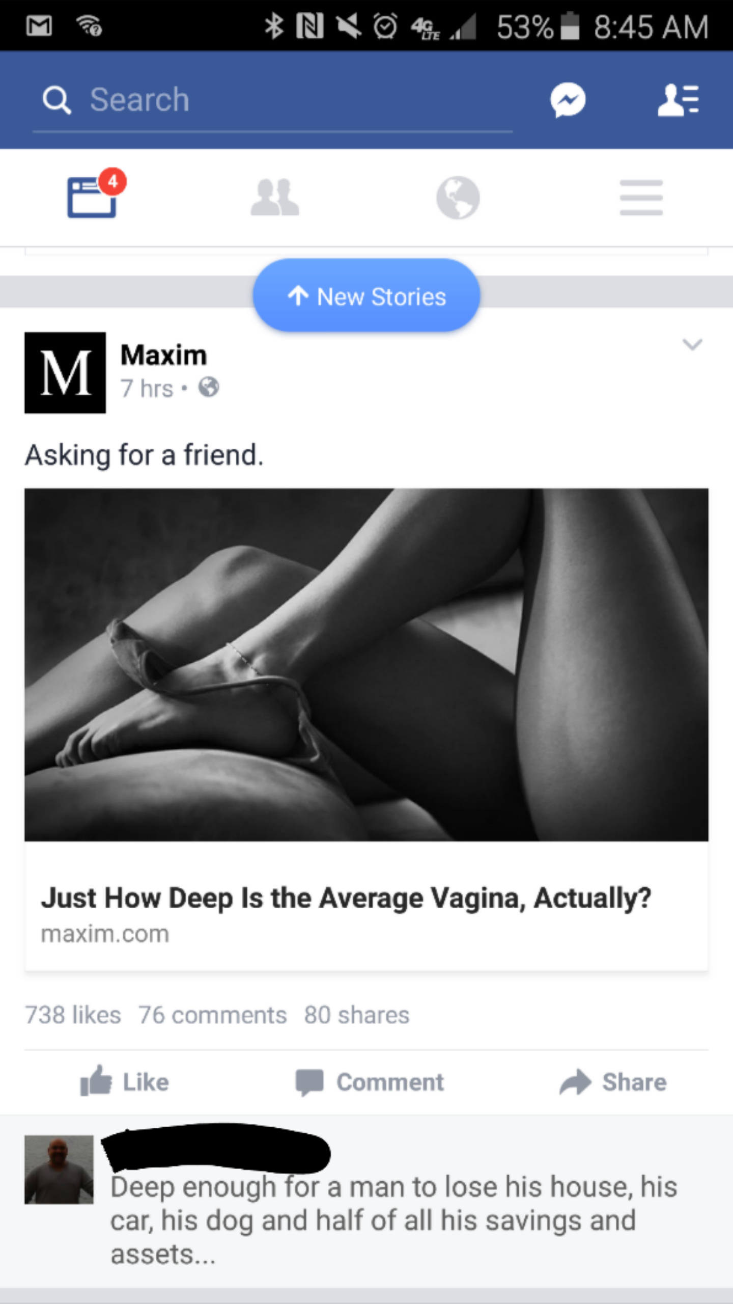 Just how deep is the average vagina?