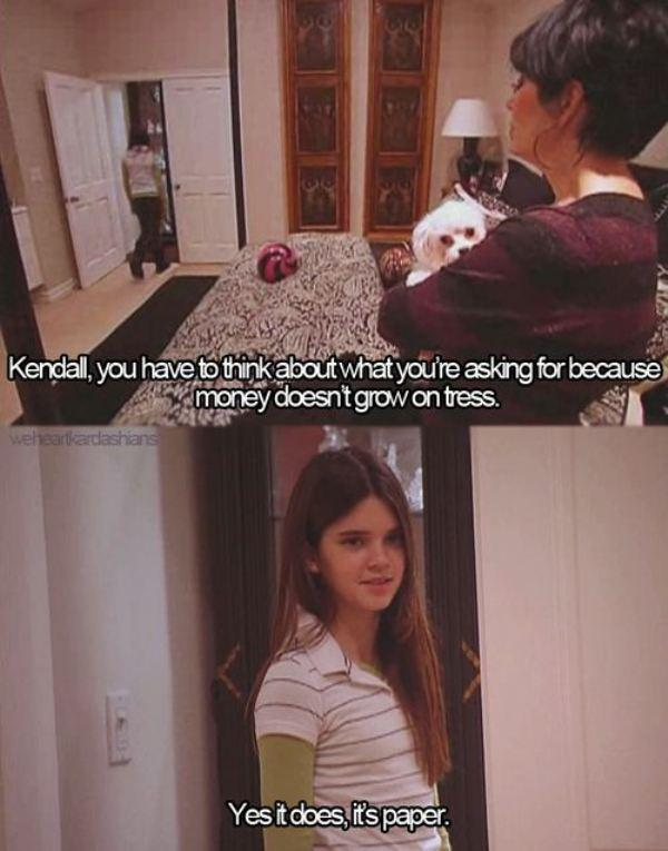 Kendall Jenner is much smarter than people think.