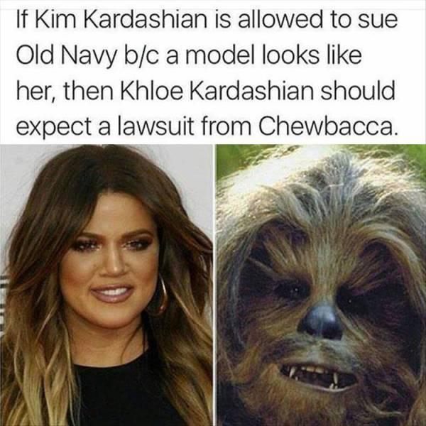 khloe_kardashian_vs._chewbacca_4285827637 khloe kardashian vs chewbacca realfunny