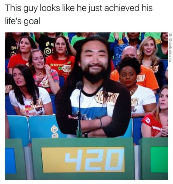420 on The Price Is Right.