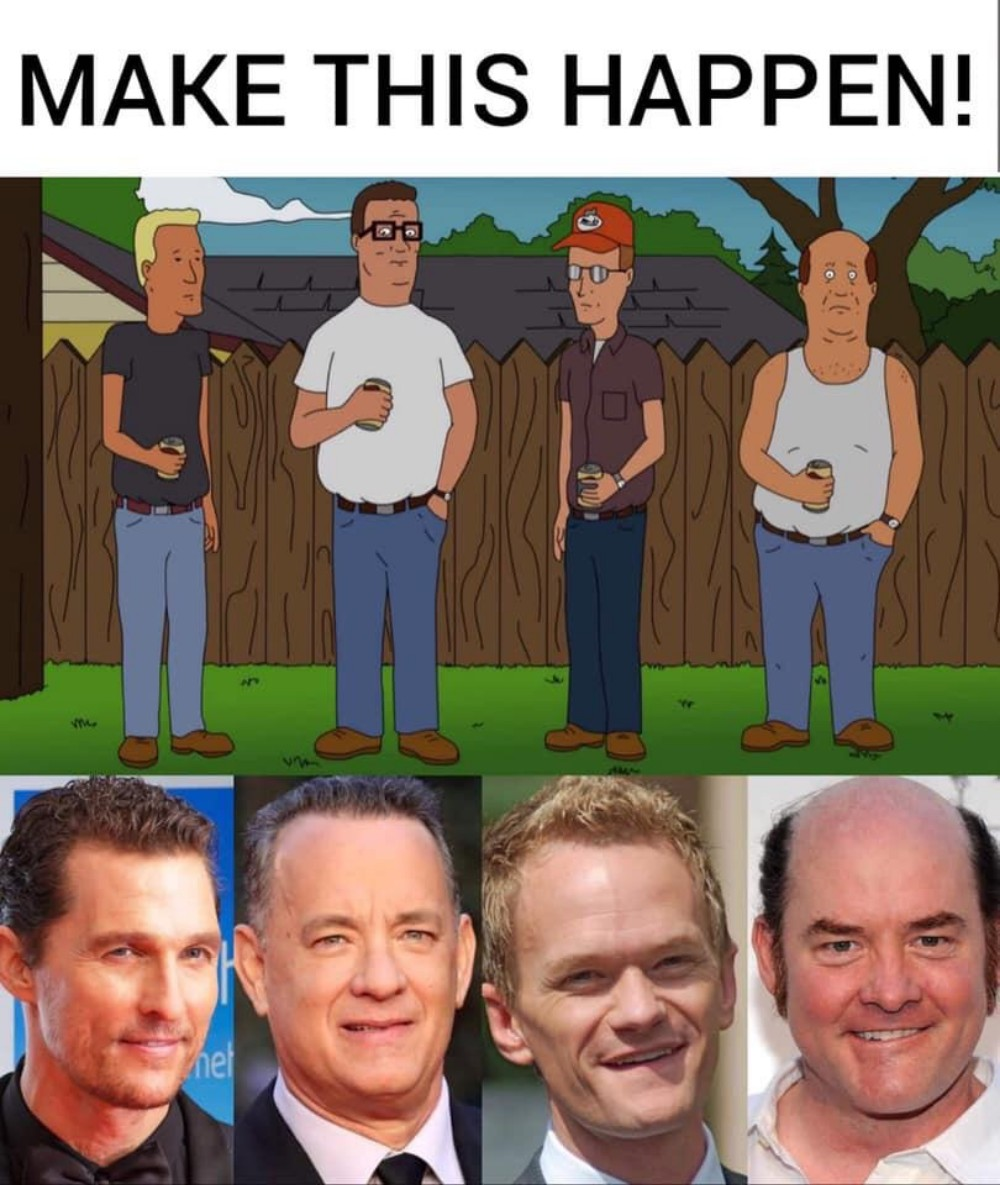Make this real-life version of King of the Hill happen!