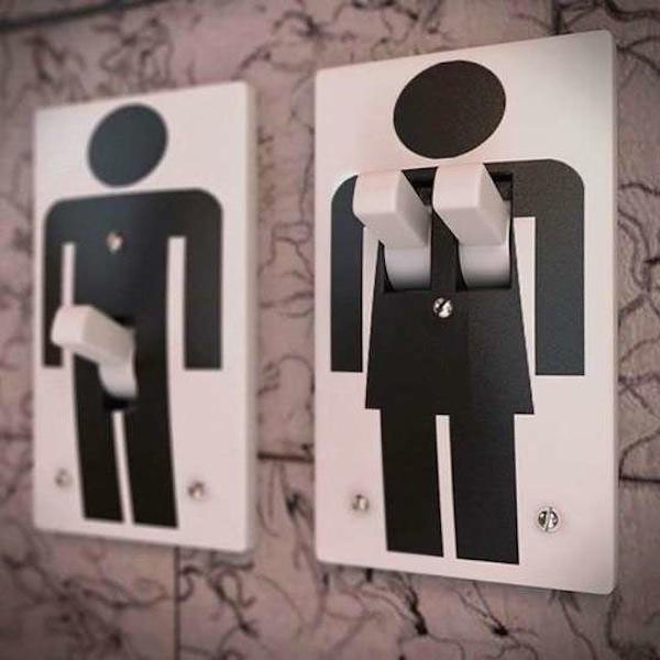 Male And Female Light Switch Covers