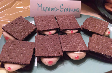 Mammo Grahams Not Only Taste Great But They Also Help To Spread Breast Cancer Awareness.