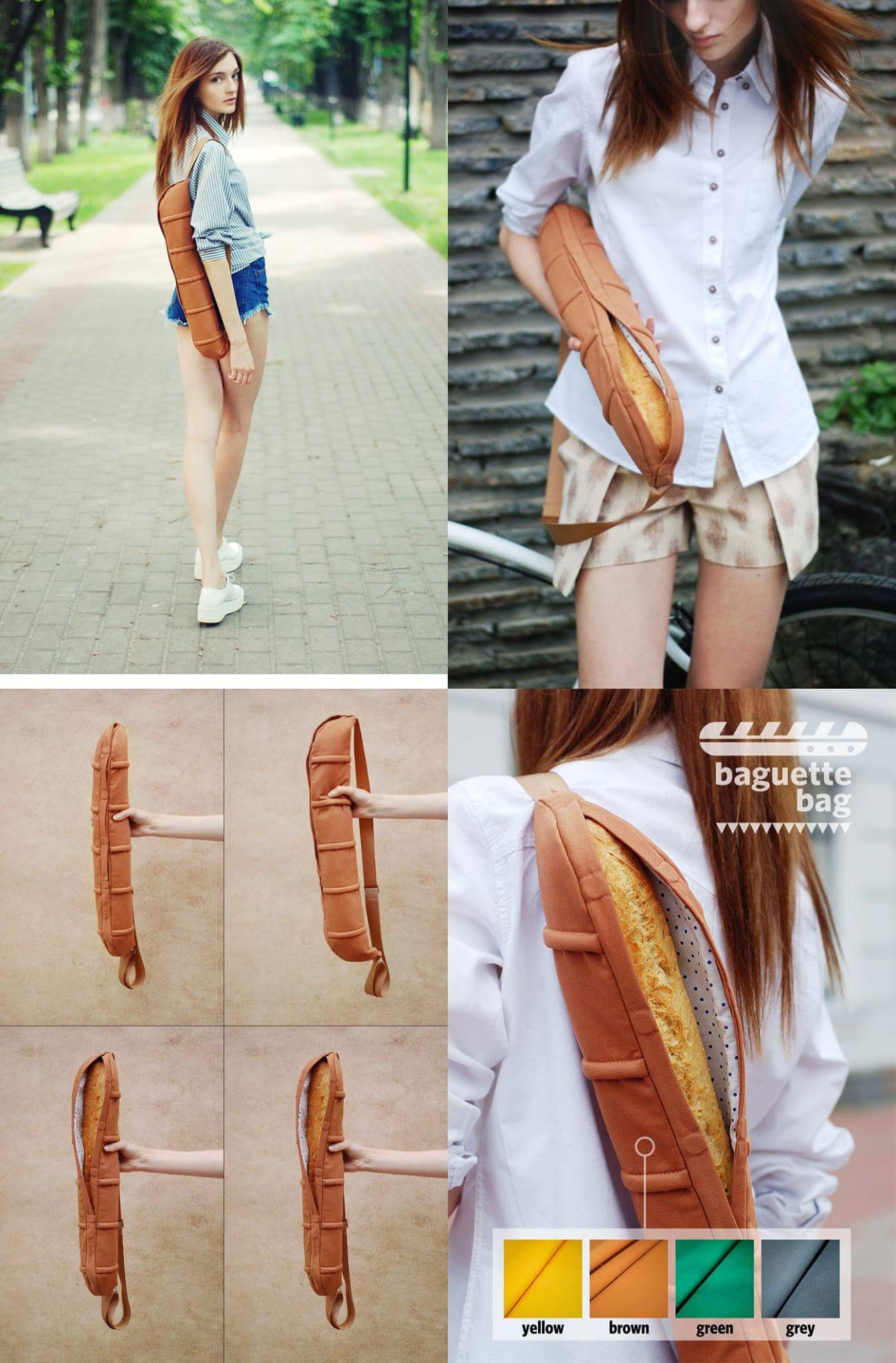 Must have fashion accessory for bread lovers.
