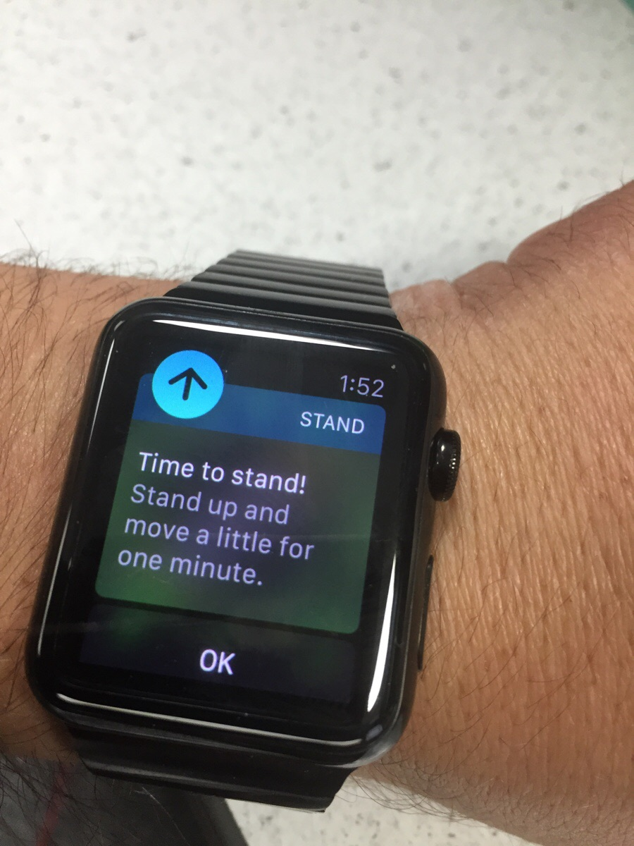 My Apple Watch is really starting to piss me off.