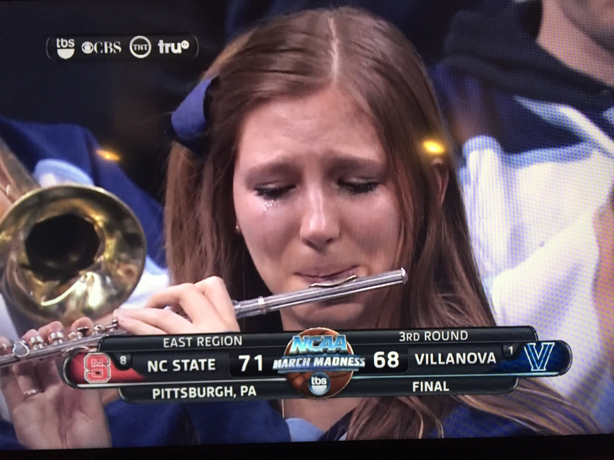 NCAA Basketball March Madness has become March Sadness for this Villanova band member.