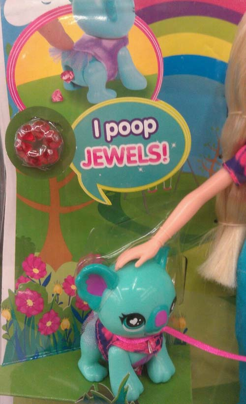 New Kids Toy Actually Poops Jewels. Yes It Poops Jewels. Who Thinks Of This Stuff?
