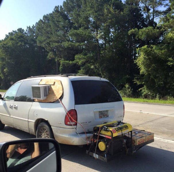 No air conditioning in your car? No problem.