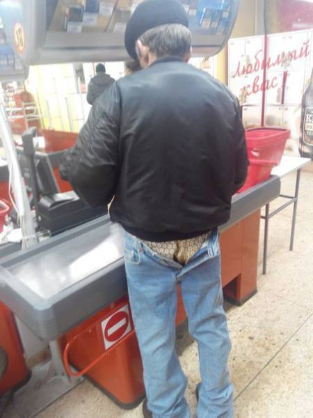 Nothing is more embarrassing than being in public unaware your pants are unzipped.