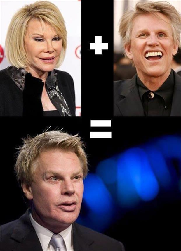 If you combine Joan Rivers and Gary Busey you get the Abercrombie and Fitch CEO.