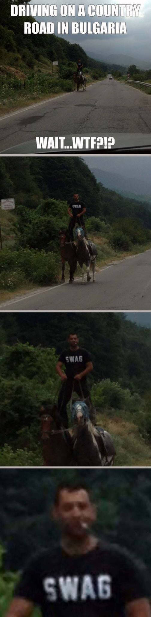 On a country road in Bulgaria, I realized the true definition of