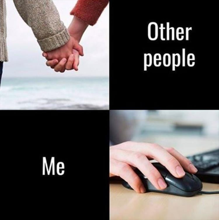 Relationships: Other People vs. Me