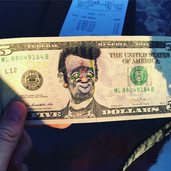 Pimped out Abraham Lincoln.