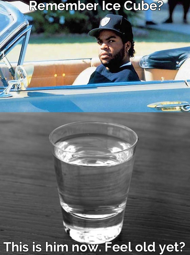 Remember Ice Cube? This is him now.