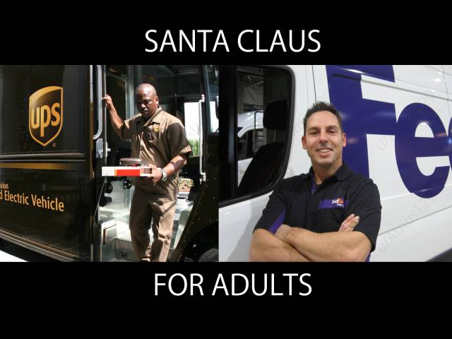 Santa Claus for adults.