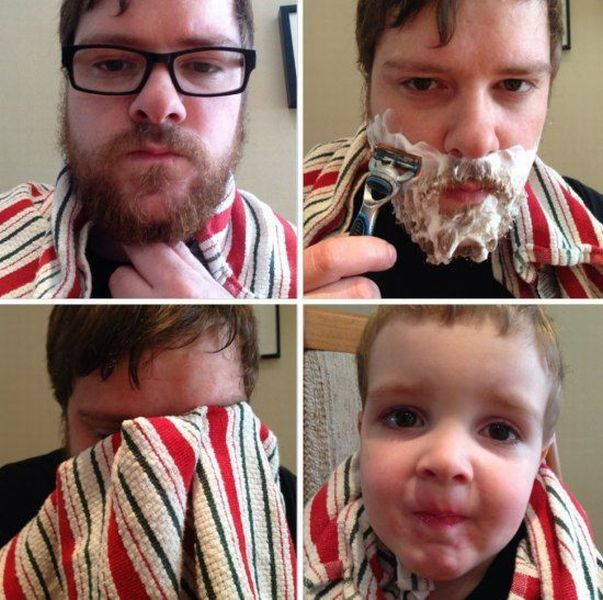 Shaving your beard can make you appear much younger