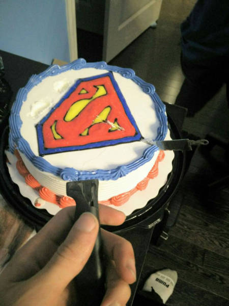 how to make a cat cake shouldn t bought a superman cake realfunny 4945