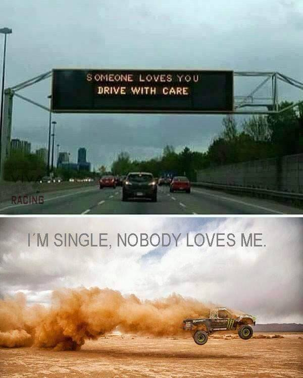 Someone loves you. Drive with care.