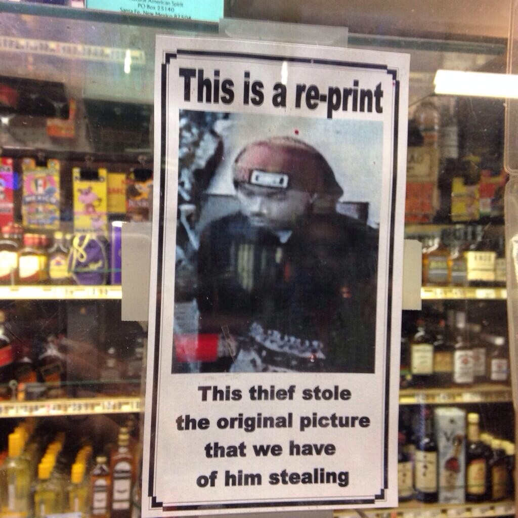 Someone Really Needs To Catch This Thief Before He Strikes Again.