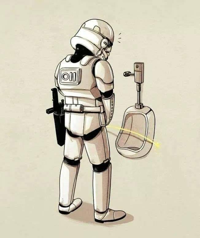 Stormtrooper's have terrible aim.