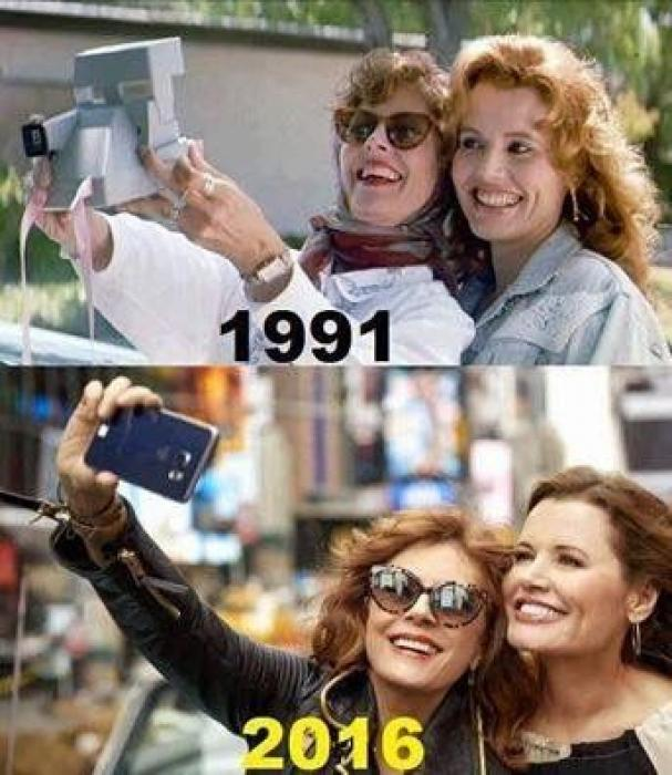 Susan Sarandon and Geena Davis have discovered the fountain of youth.