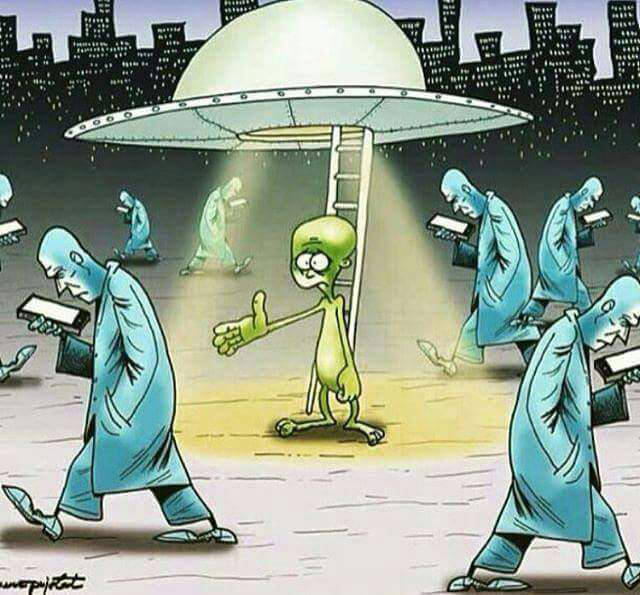 The aliens have landed, but the zombies don't care.