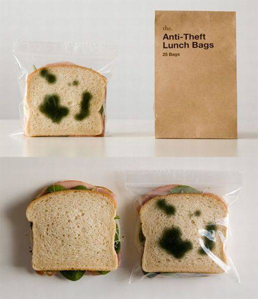 Anti-theft lunch bags.