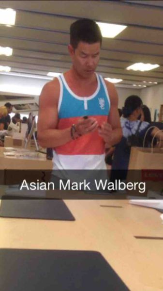 The Asian version of Mark Wahlberg.