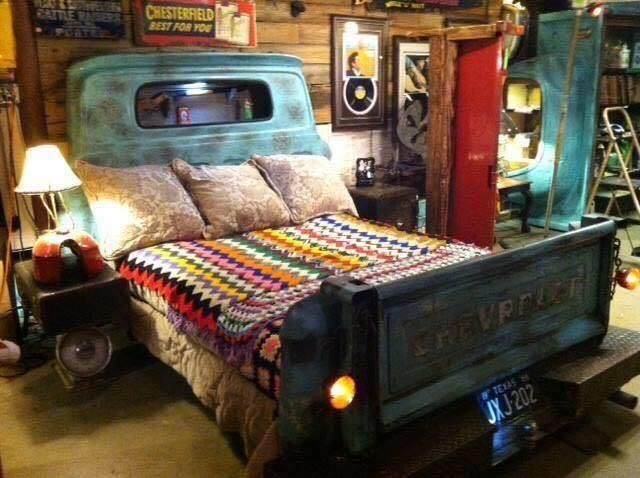 The coolest classic pickup truck bed you will ever see.