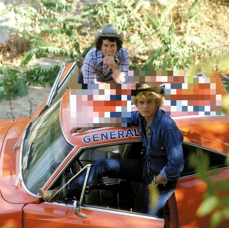 The Dukes of Hazzard iconic Dodge Charger named 'General Lee' has been stripped of the Confederate flag.