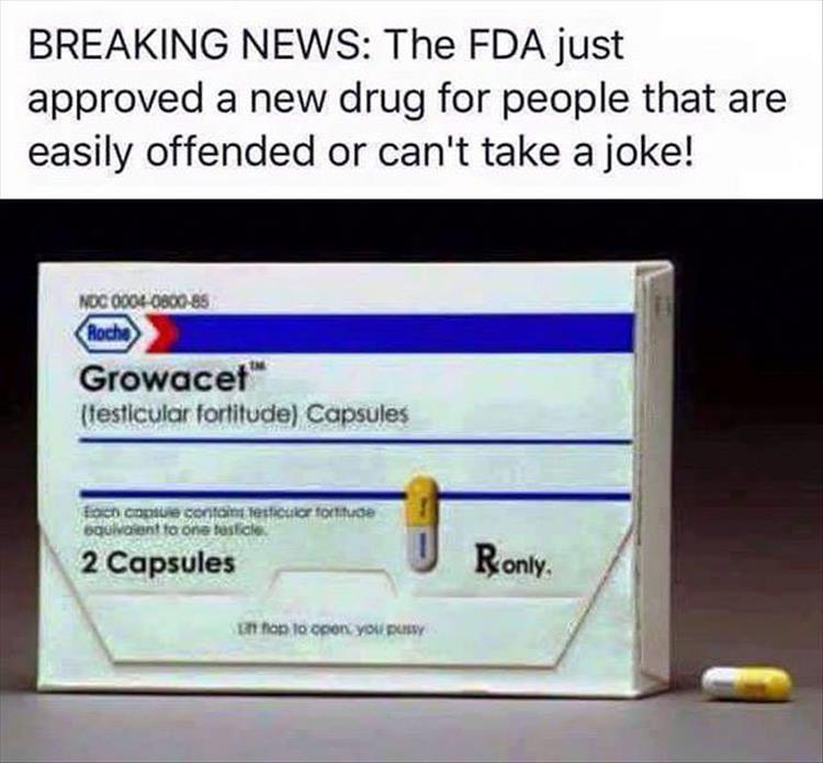 The FDA just approved a new drug called Growacet.