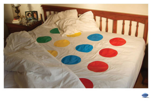 The game of Twister just got even more fun.