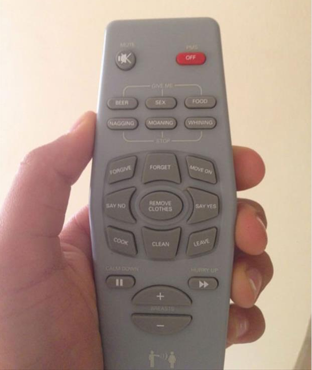 The most amazing remote control ever created by man