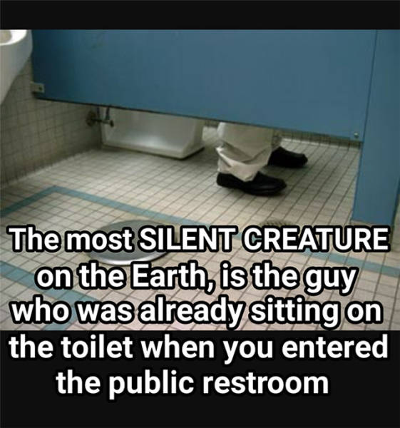 The most silent creature on earth.