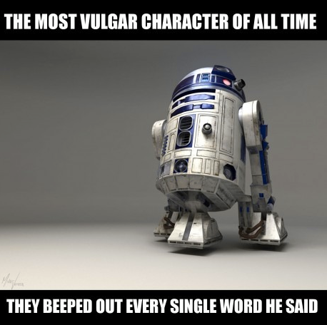 The most vulgar character of all time.