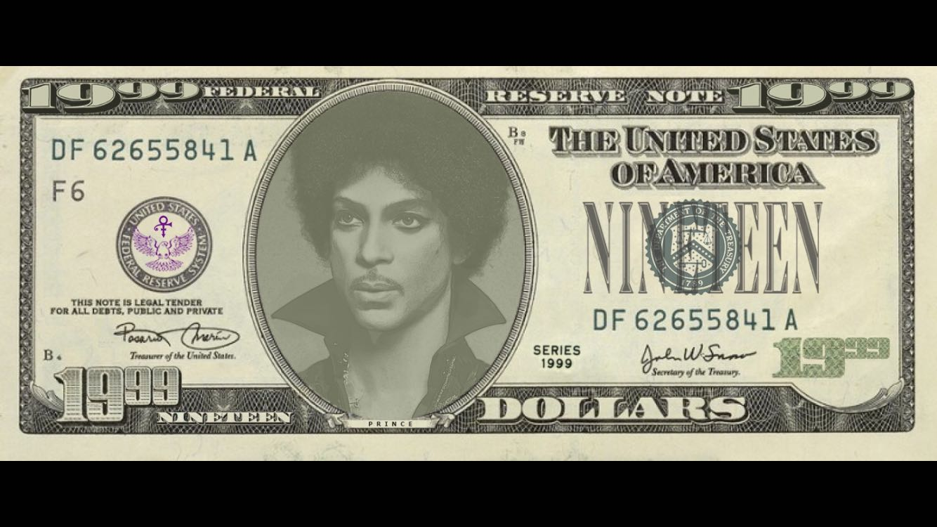 Introducing the Prince $19.99 bill.
