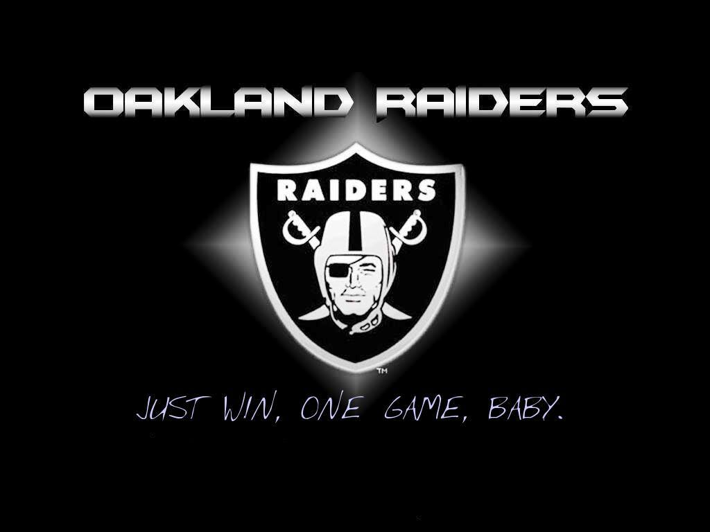 The Raiders Have a New Motto. Just Win, One Game, Baby.