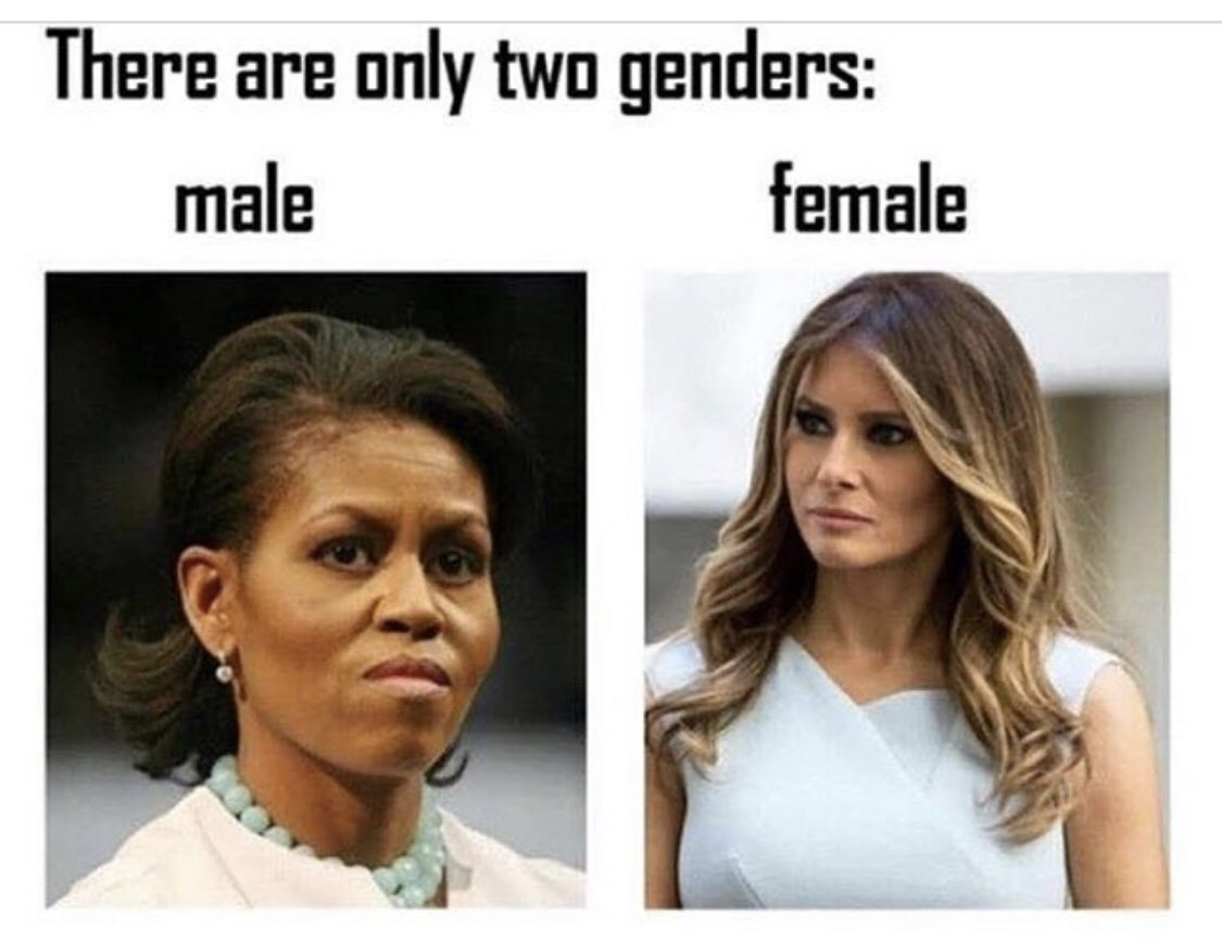 There are only two genders.