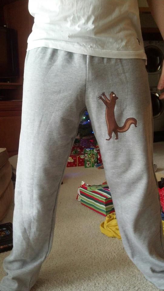 These Squirrel Sweatpants Would Make A Great Gift For All Squirrel Lovers Or For Someone Who Is Over Protective Of Their Nuts.