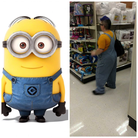 The Minions are real!