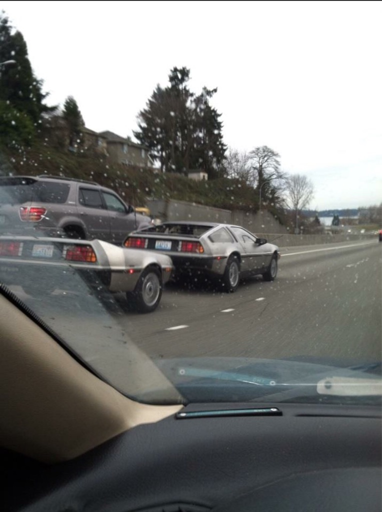 This Back To The Future trailer is awesome.