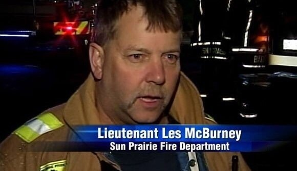 This guy was born to be a firefighter.