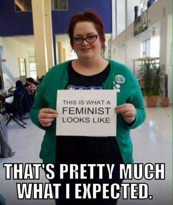 This is what a feminist looks like.