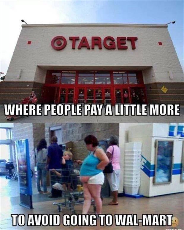 This Is Why Some People Choose Target Over Walmart.