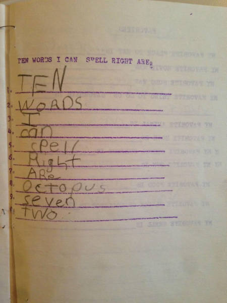 This kid shows his teacher he is much smarter than the rest of the class.