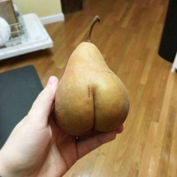 Juicy ass pear.