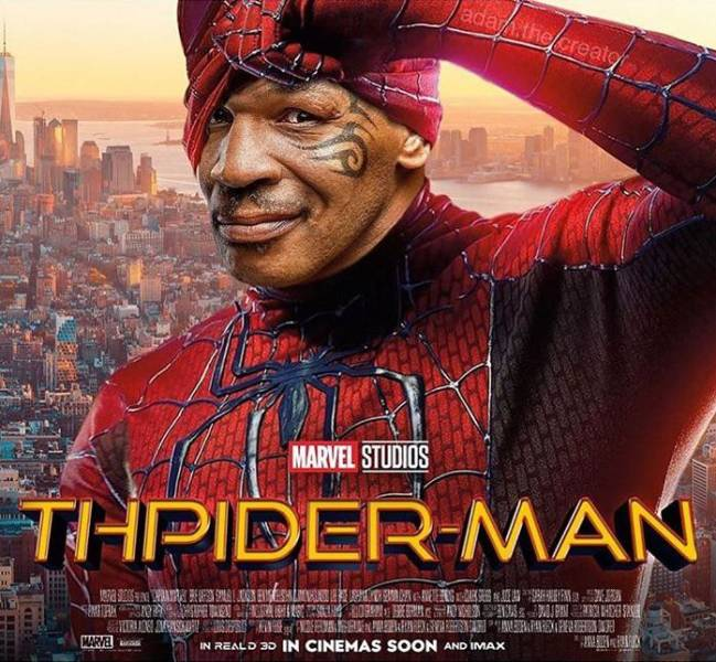 Thpider-Man. Coming soon!