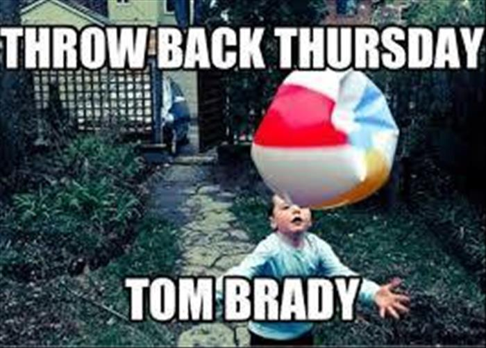 Throwback Thursday picture of Tom Brady as a child.